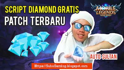 Script Diamond Gratis Mobile Legends 100% Works !!