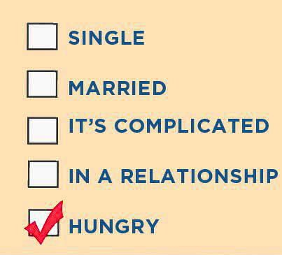 Funny Picture - Marital Status Sex Food