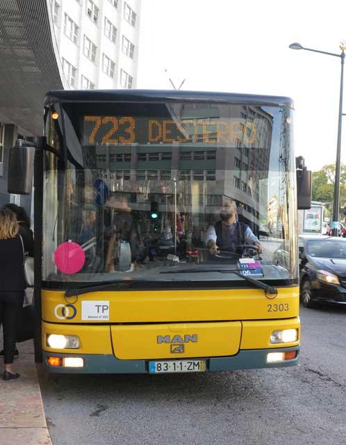 723 Lisbon bus