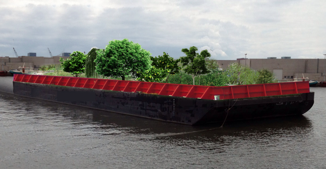 Floating urban forest coming to New York City