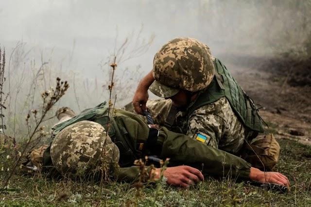У Мар'їнці внаслідок обстрілу бойовиками загинув мирний житель
