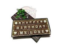 Happy Birthday Gift Chocolate Venue My Love Message