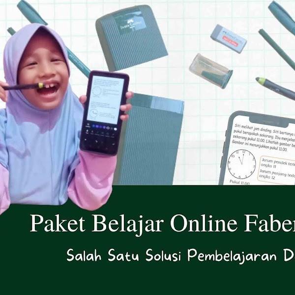 Paket Belajar Online Faber-Castell Salah Satu Solusi Pembelajaran Daring
