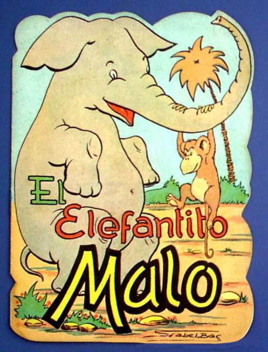 El Elefantito Malo, ediciones Redecilla