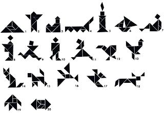 Resultado de imagen para tangram de animales para imprimir