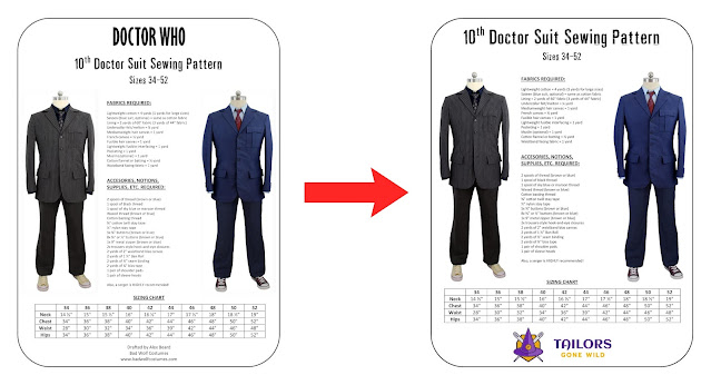 Tailors Gond Wild - sewing patterns