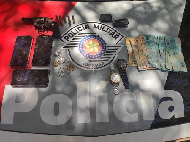 Assaltantes armados acabam detidos 10 minutos após roubarem clínica odontológica em Panorama