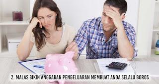 Malas bikin anggaran pengeluaran membuat Anda Selalu Boros
