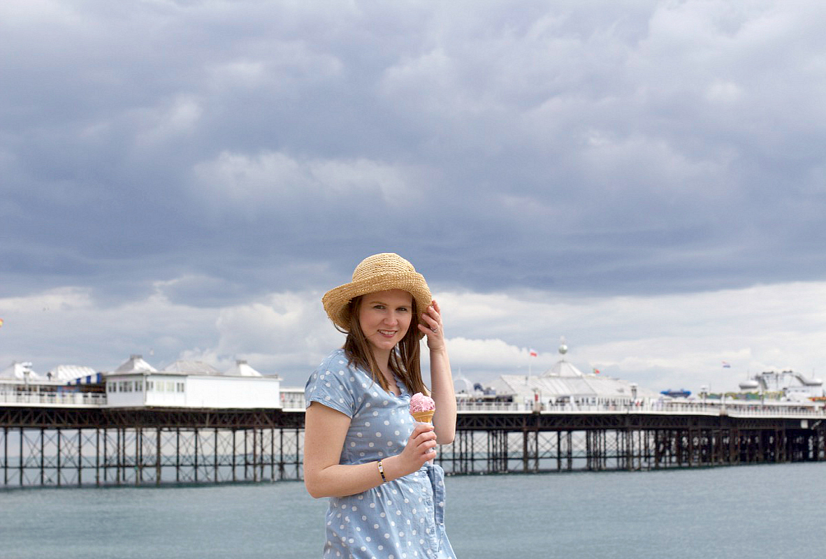 cath kidston chambray dress