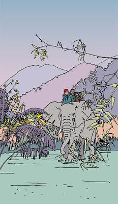 dessin muriel logist, passeport santé 2013