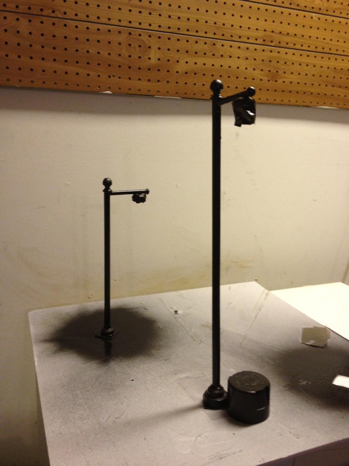 Jocelyn S Mountfield Dollhouse Street Lamp Post Made