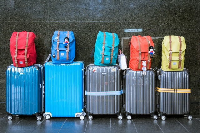 Luggages-at the-airport