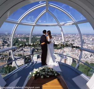 Cupid's capsule London Eye