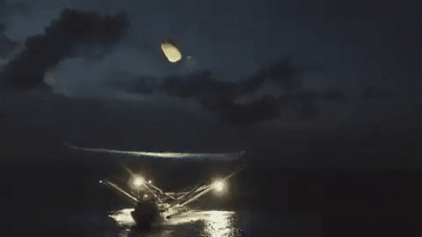 SpaceX Successfully Catches Falling Reusable Nose Cone In A Massive Net