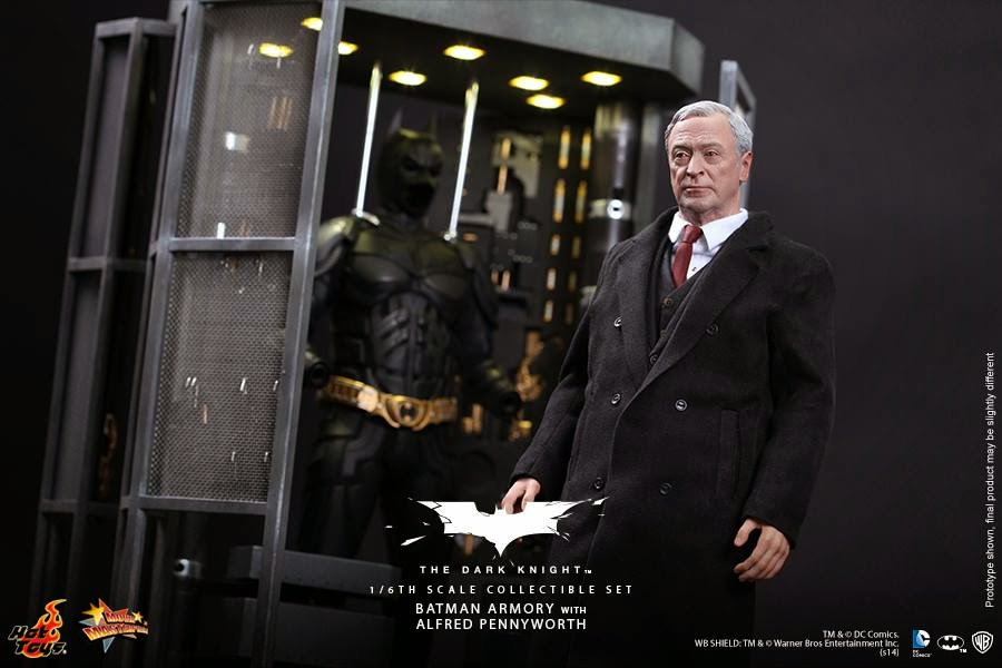 univers sombre hot toys batman
