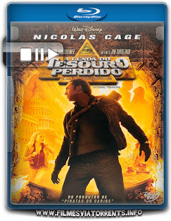 A Lenda do Tesouro Perdido Torrent - BluRay Rip 1080p Dublado