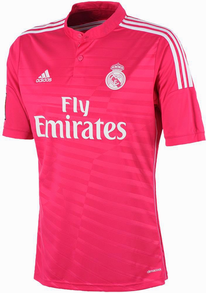 Jersey real madrid Pink 2015