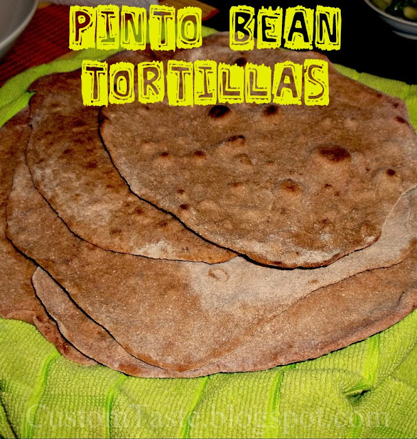 Pinto Bean Tortillas by Custom Taste