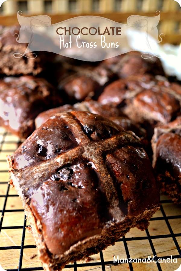 Receta hot cross buns