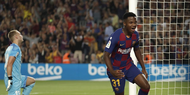 Barcelona Dilemma: Ansu Fati or Ousmane Dembele