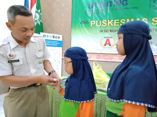 Cegah Stunting Sejak Dini, Siswa SD Muhammadiyah 1 Solo Diberi Penyuluhan