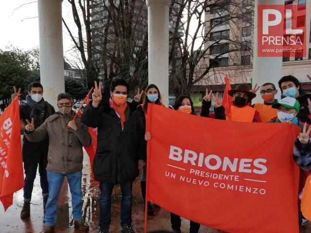 Entrevista a Ignacio Briones en su visita a Osorno