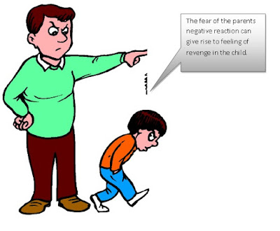how parents' negative behavior can affect child's growth
