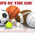 TIPS OF THE DAY:  Today's football Tips, Ice Hockey Tips, Basketball Tips