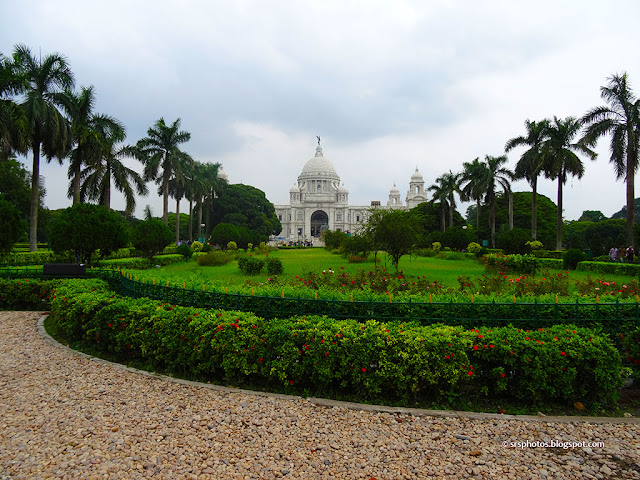 Beautiful View from Main Entrance, Victoria Memorial, Kolkata