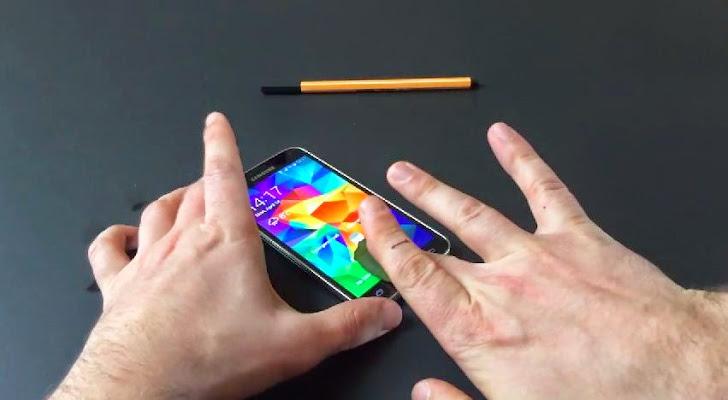 Samsung Galaxy S5 Fingerprint Scanner Easily Get Hacked