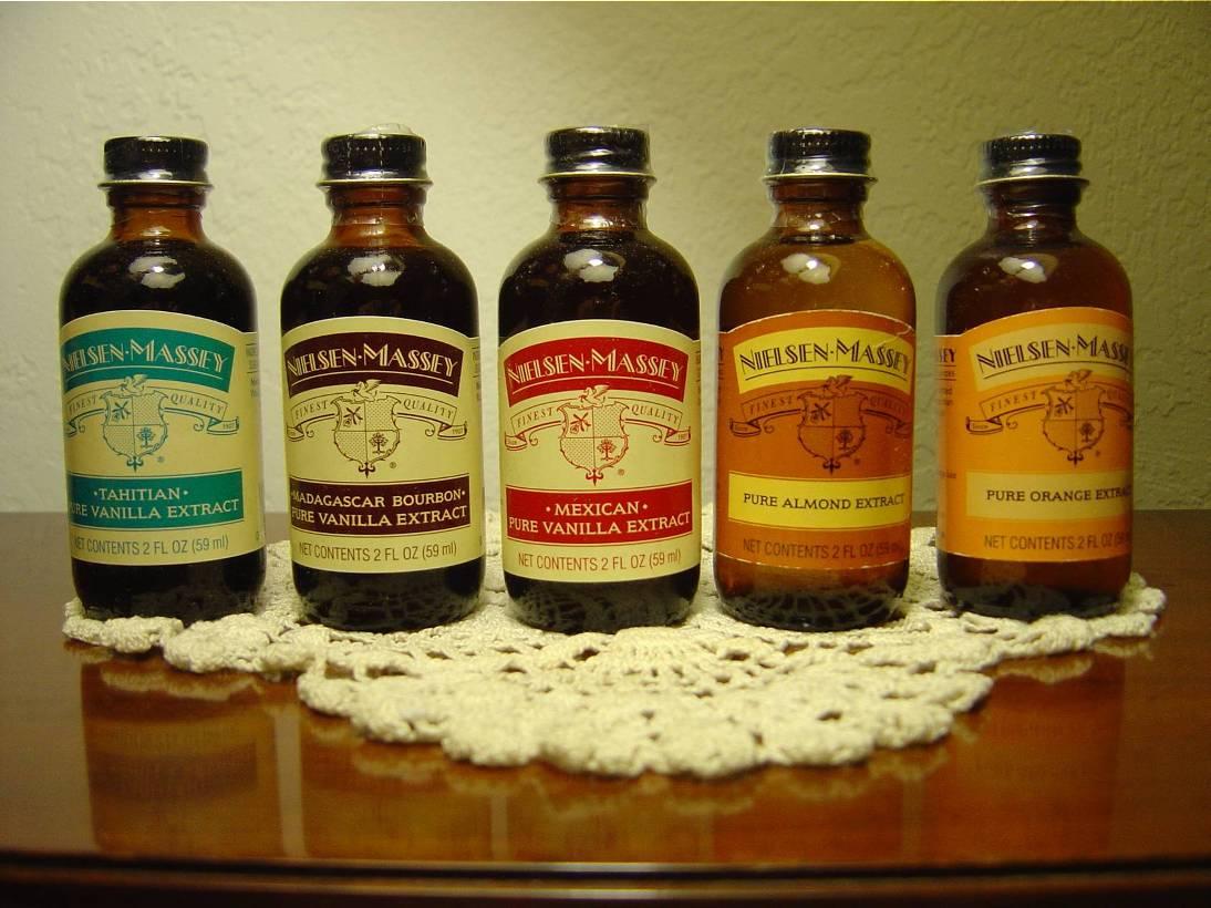 Nielsen-Massey Vanillas Pure extracts