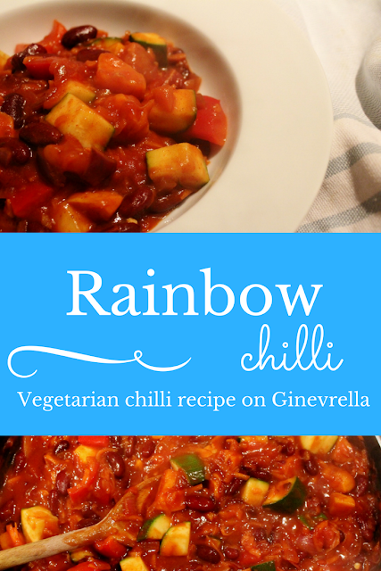 Rainbow Chilli Recipe on Ginevrella