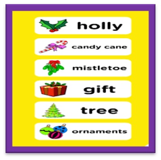 http://www.eslgamesplus.com/christmas-esl-vocabulary-memory-game-things-around-the-christmas-tree/