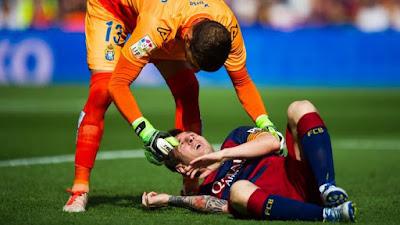 Messi vẫn sẽ ngồi ngoài thời gian ngắn nữa vì chấn thương