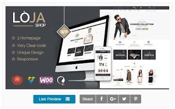Loja Responsive WooCommerce Theme Wordpress