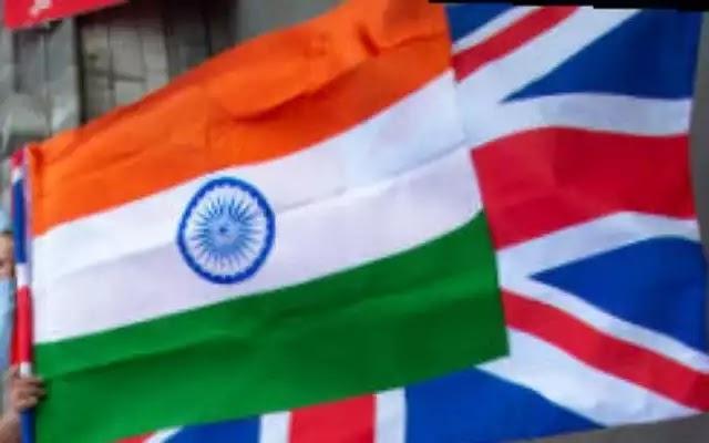 India Britain flag