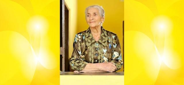 Mulher mais idosa de São Vicente do Seridó morre aos 102 anos