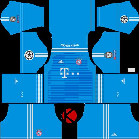 online store d425b ef8bb FC Bayern Munich 2018/19 Kit - Dream League Soccer Kits ...