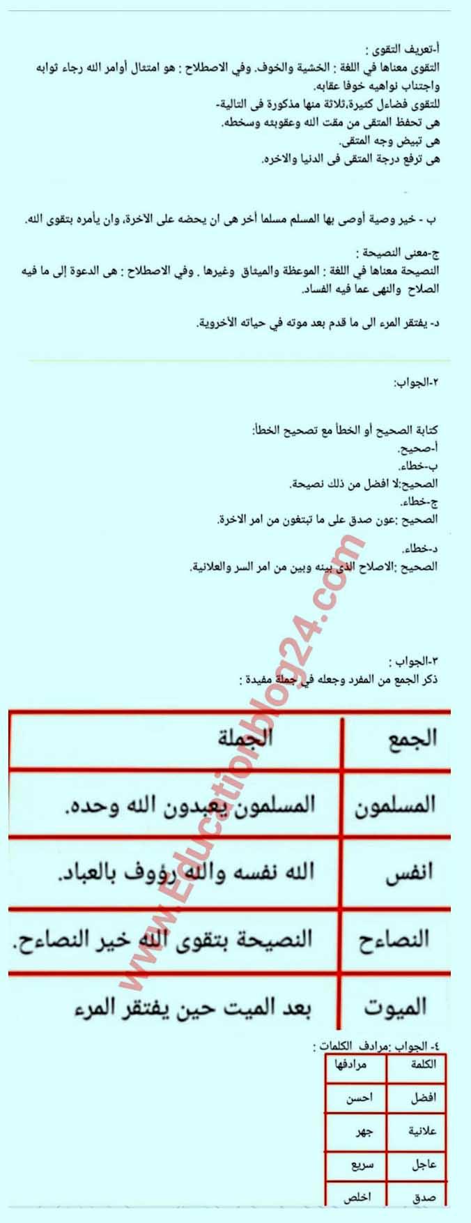 Alim Arabic literature Assignment Answer 2021 pdf download 10