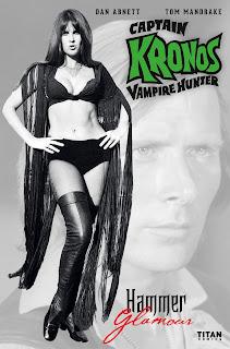 Cover B of Captain Kronos Vampire Hunter #3 from Titan Comics featuring Caroline Munro