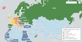 Legales wildcamping geht nicht überall