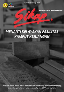 Cover Majalah Edisi Fasilitas Kampus, April 2018
