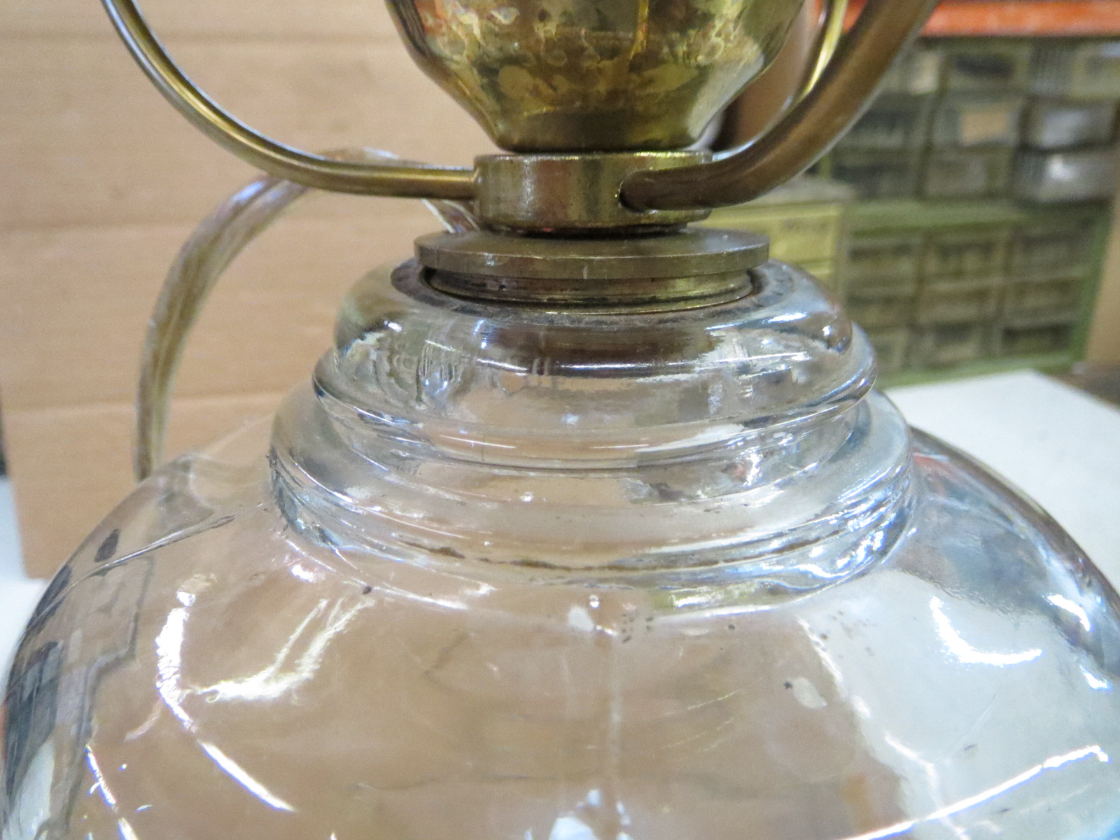Lamp Parts and Repair | Lamp Doctor: Electrified Oil Lamp ...