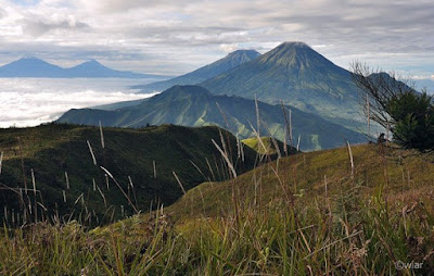 wisata dieng Pendakian Gunung Prau