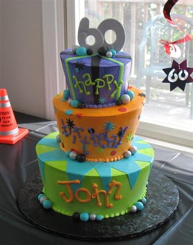 60th Birthday Cake 60th Birthday Cakes Ideas Birthday