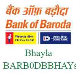 New IFSC Code Dena Bank of Baroda Bhayla