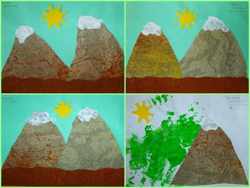 Studiamando liberamente lavoretti sulla montagna per i for Piccoli disegni di baite di montagna