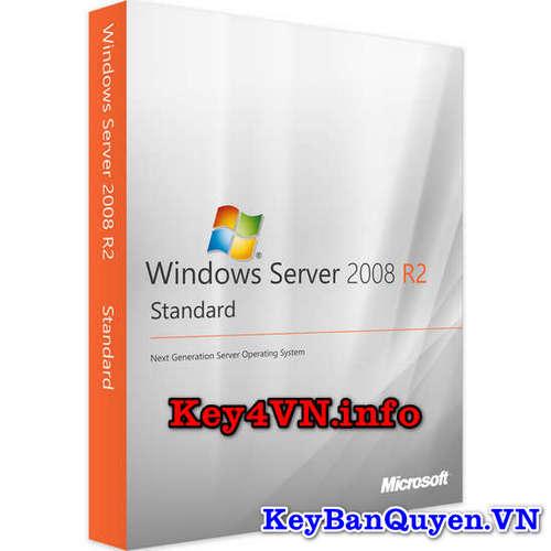 Key bản quyền Windows Server 2008 R2 Standard