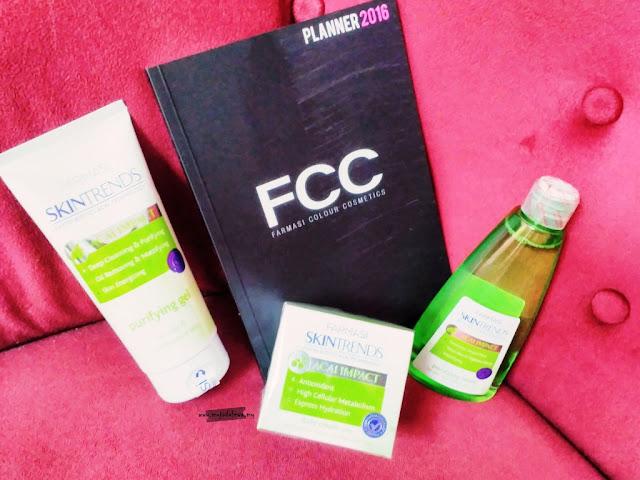 skintrends, farmasi colour cosmetics, produk kecantikan untuk kulit berminyak