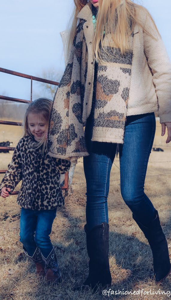 mother daughter cowgirl boots outfits